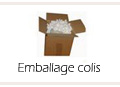 Emballage colis