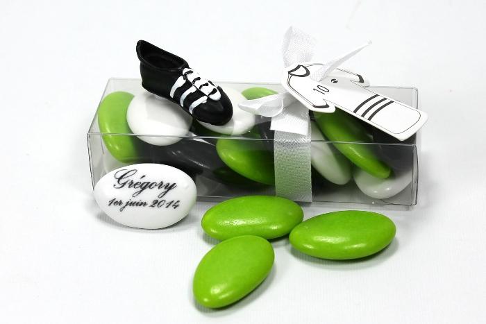 Boite communion th me football - Boite a chaussure decoree ...