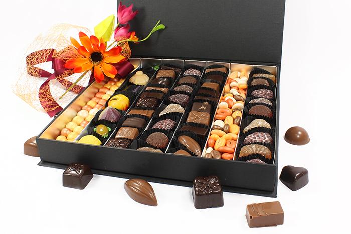 boite de degustation chocolat et confiseries. Black Bedroom Furniture Sets. Home Design Ideas