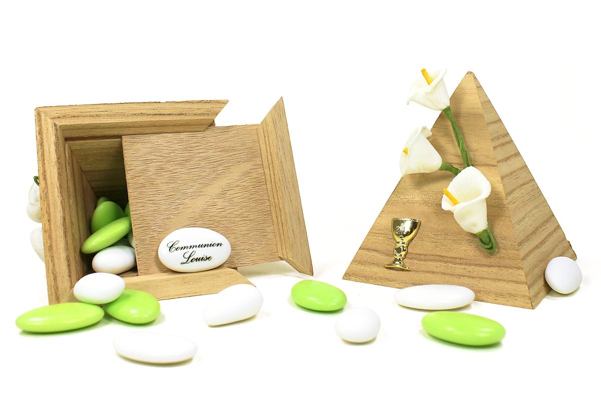boite drag es pyramide bois. Black Bedroom Furniture Sets. Home Design Ideas