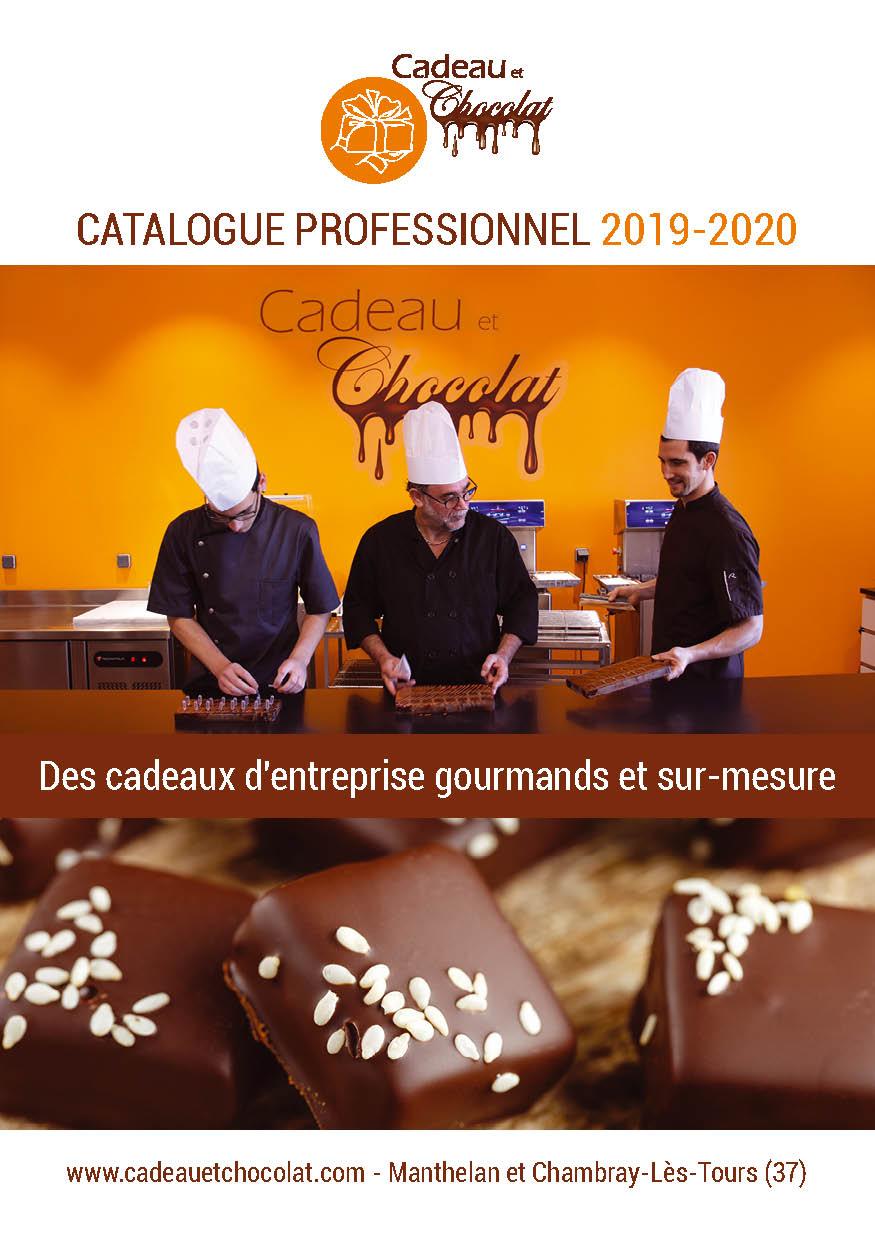 Couverture du catalogue Cadeaux d'Entreprise Cadeau et Chocolat 2019