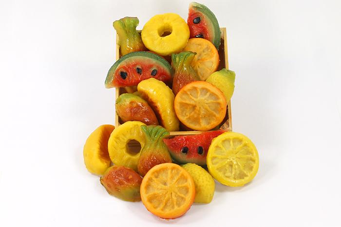 Pâtes d'amandes : Fruits exotiques
