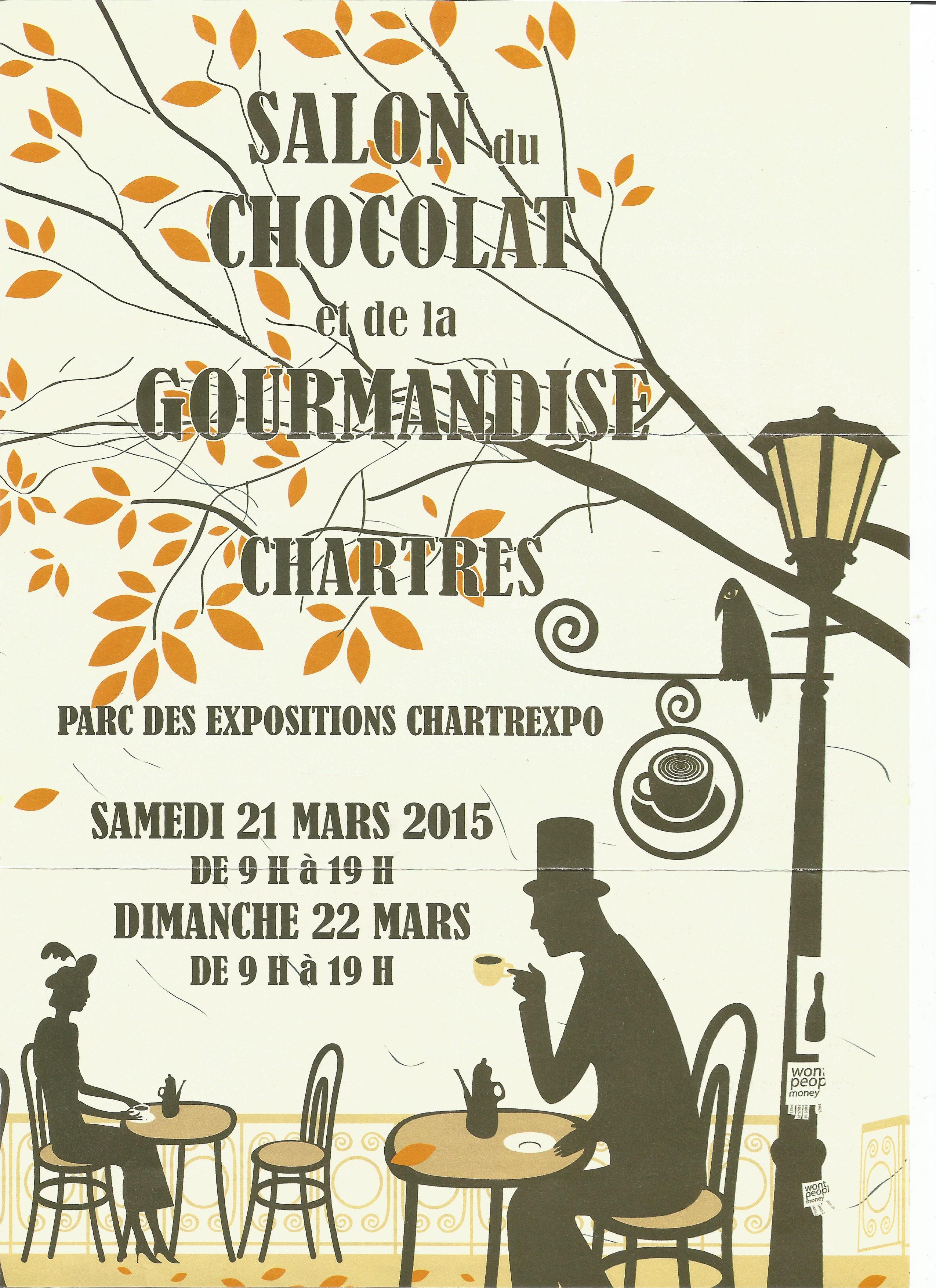 affiche salon du chocolat chartres 2015