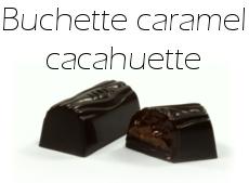 Buchette caramel cacahuette