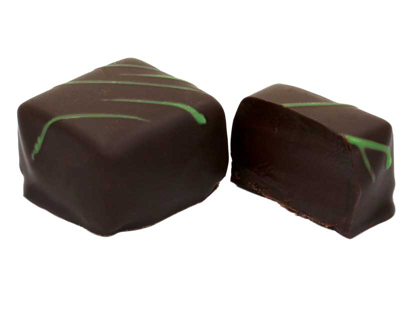 Chocolat ganache menthe