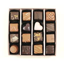 La boite de chocolat Rose et gris pour Cadeau d'amour