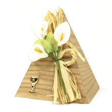 La pyramide boite à dragées pour cadeau communion