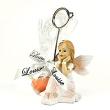 Le marque place fée et son tulle transparent de dragées pour communion, baptême, anniversaire ou mariage
