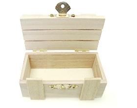 Contenant en bois petite caisse à latte pour dragée mariage, baptême, communion ou anniversaire