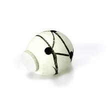 Ballon de foot décoration contenant à dragées communion, baptême et mariage