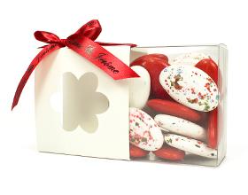 La boite à dragées motif fleur original et pas cher spéciale mariage