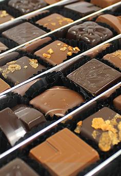 Les boites de Chocolat de Cadeau Et Chocolat