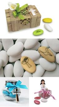 Les contenants à dragées pour communion de Cadeau et Chocolat