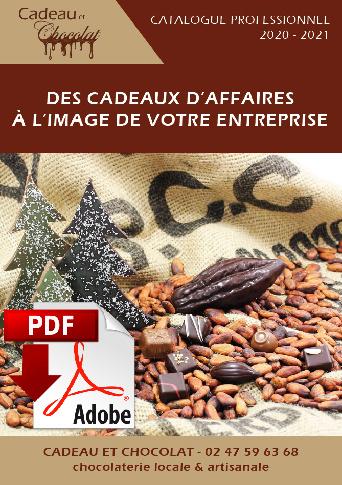 Catalogue cadeaux d'affaire professionnel boites de chocolats entreprise 2020