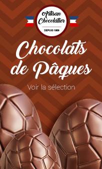 Chocolat de Pâques chocolat artisanal
