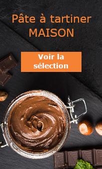 Découvrez les pâtes à tartiner maison Cadeau et Chocolat