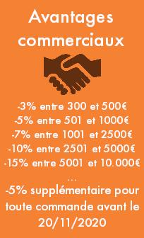 Remises commerciales catalogue professionnel entreprise Cadeau et Chocolat.com