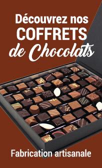 Nos coffrets de chocolat à offrir