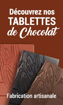 Nos tablettes de chocolat artisanal