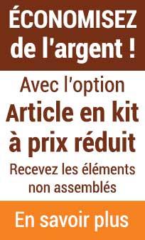 Option Article en Kit à Prix Réduit pour bénéficier d'une réduction sur vos articles
