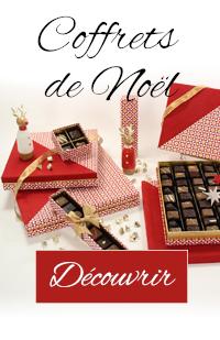 Boites de chocolats Noël fabrication maison artisanal
