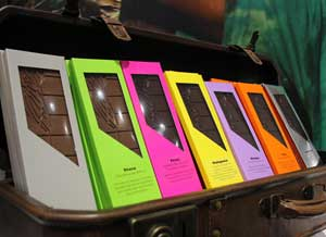 Tablette de chocolat artisanal 13 origines