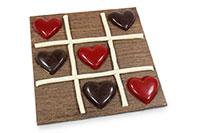 Jeu Saint Valentin en Chocolat