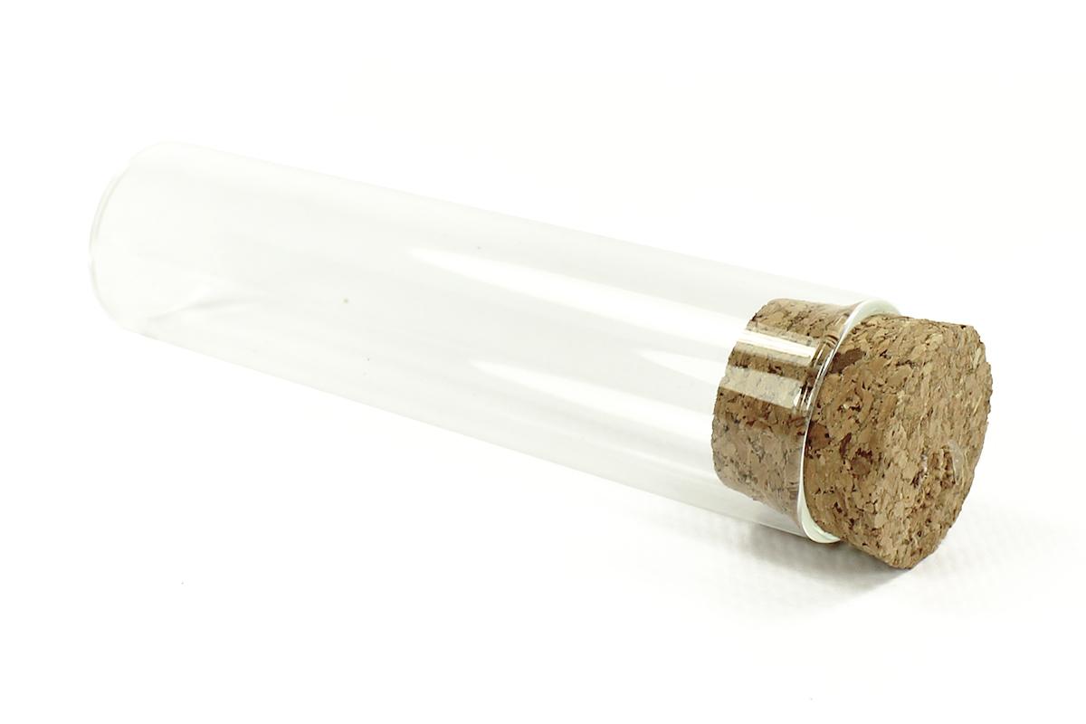 Tube en verre à garnir de dragées pour un mariage