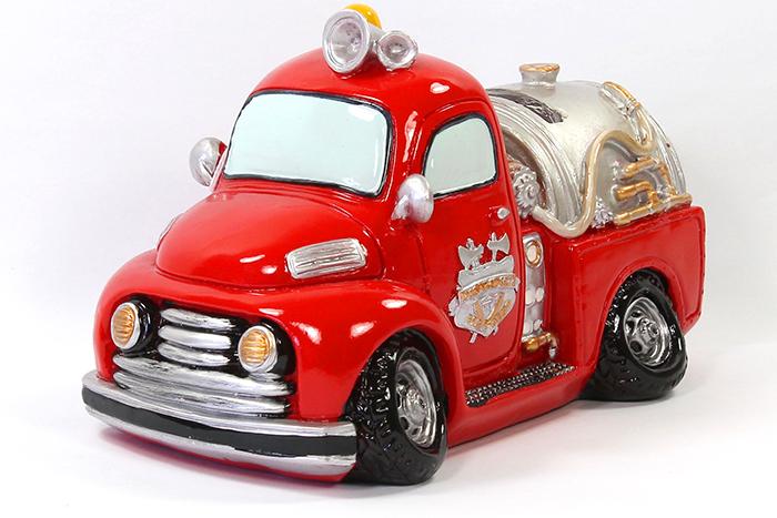 Tirelire camion de pompier - Image camion pompier ...