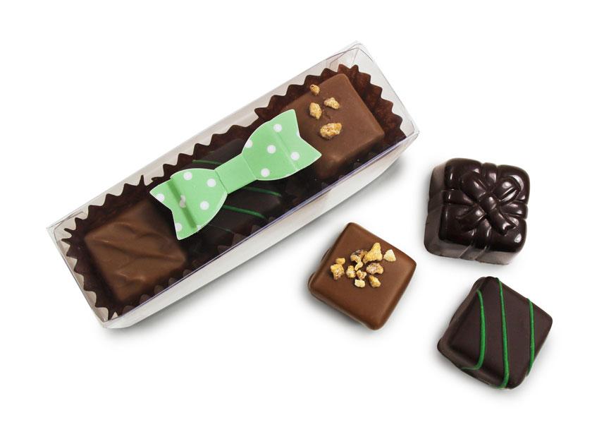 Chocolats fins pour cadeau d'invité mariage