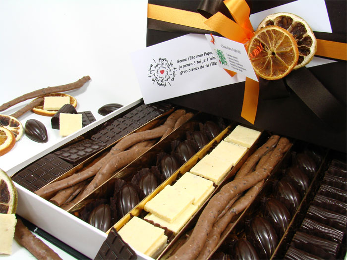 grande boite de chocolats ap ritif 650g. Black Bedroom Furniture Sets. Home Design Ideas